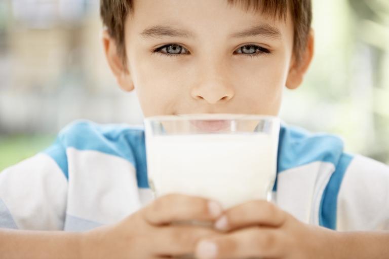 kid-milk